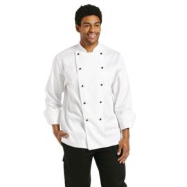 Chef Works Marche koksbuis - lange mouwen - unisex - Wit