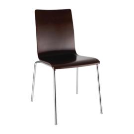 Bolero vierkante stoel - 4 stuks