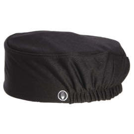 Zwarte Beanie - Chef Works totale ventilatie