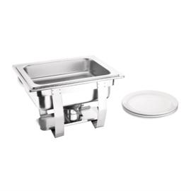 Chafing Dish RVS - GN1/2 - 30(h) x 36.5(b) x 30(d)cm