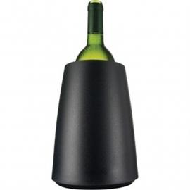 Vacu-Vin wijnkoeler zwart