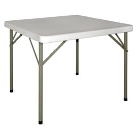 Vierkante tafel met Inklapbare poten -  86x86CM