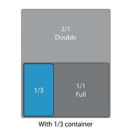 GN Bakken 1/3-GN, 150mm, 5.7 Liter | 325x176mm