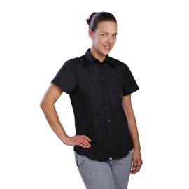 Dames T-Shirt Zwart - Chef Works Cool Vent - 4 maten beschikbaar