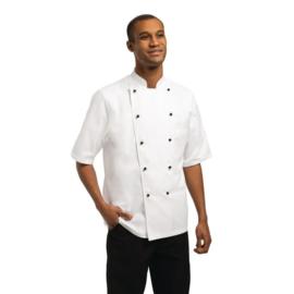 Chef Works Marche Koksbuis - korte mouwen - 4 maten - unisex