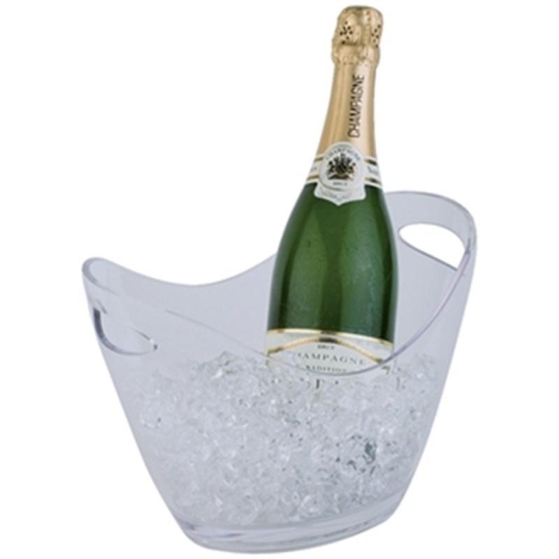 Champagne koeler helder klein