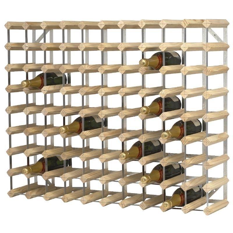 Flessenrek / wijnrek voor 90 flessen