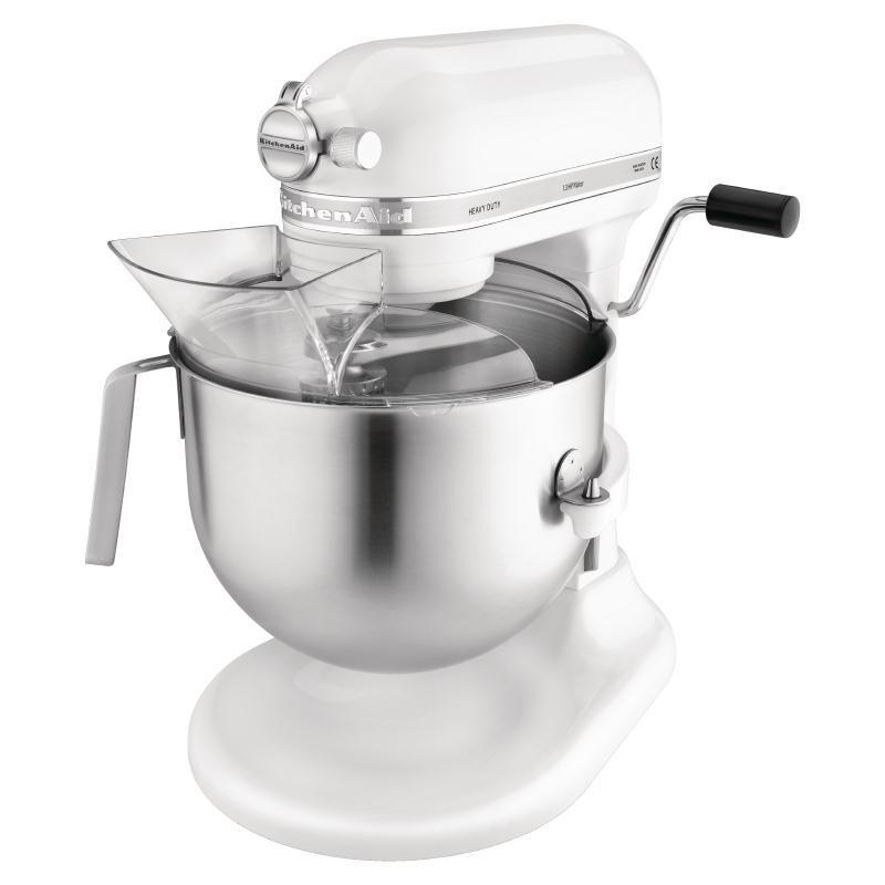 KitchenAid K5 Mixer - 6,9 Liter - Wit