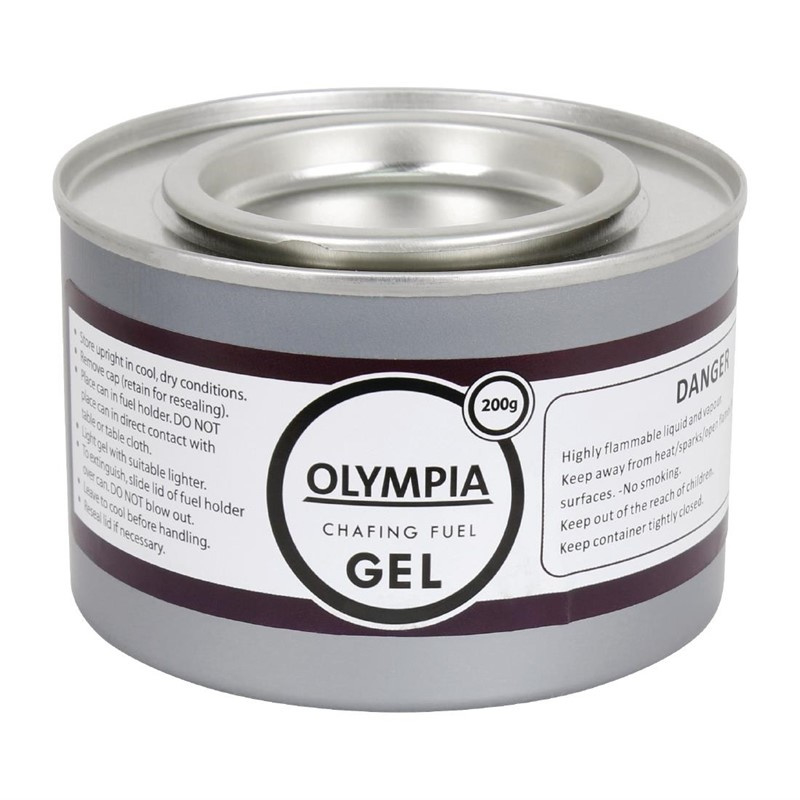 Olympia brandpasta gel 200g 12 stuks