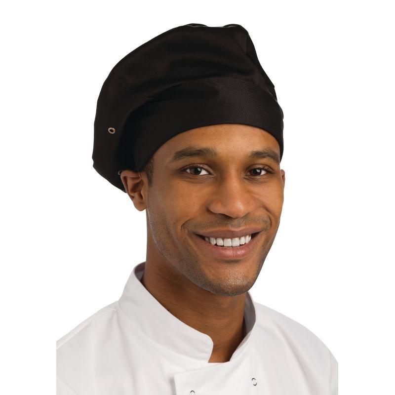 Goedkope zwarte koksmuts - Chef Works - Universele maat