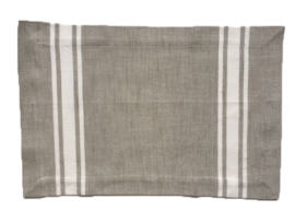 Linen & More placemat New French zand