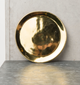 UNC Good Morning sideplate goud