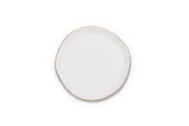 UNC  Good Morning bordje wit met gouden randje