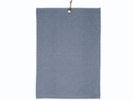 Södahl Attitude denim tea towel China Blue
