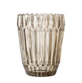 Bloomingville lichtbruin waterglas
