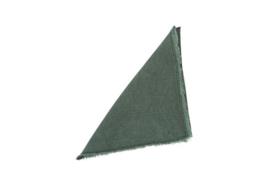 MrsBLOOM linnen servet Michelle dark green