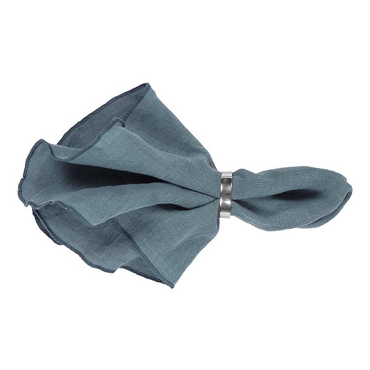 Broste Copenhagen linnen servet Pro Blue