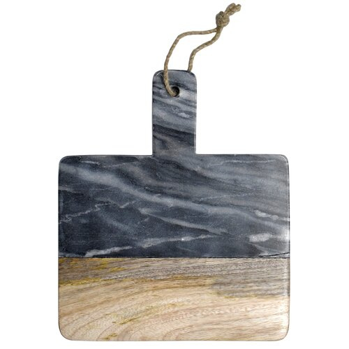 Dassie serveerplank Kiaan marble grijs