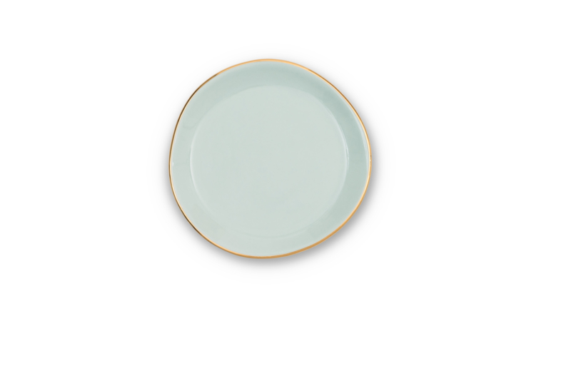 UNC  Good Morning klein bordje celadon