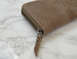 SNAKE WALLET BROWN