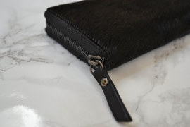 HAIRY BLACK WALLET SMALL