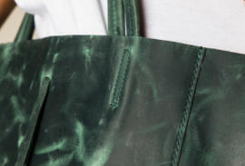 VINTAGE BAG GREEN
