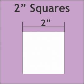 "2"" Squares (50 pieces)"
