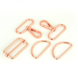 "STS195C - 1½"" Rose Gold - Basic Hardware Kit"