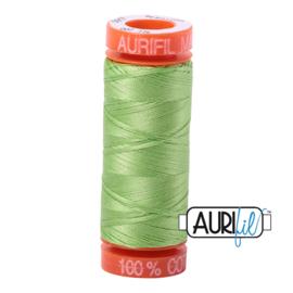 Aurifil Quiltgaren- MAKO 50 - 200 meter - Kleur: 5017 - Shining Green