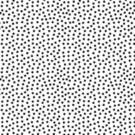 GRIDWORK by Christa Watson - SQUARE DOTS WHITE - 6818-09