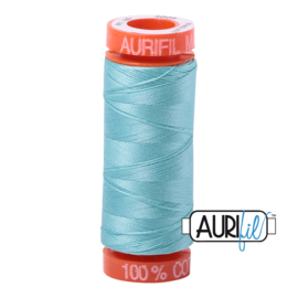 Aurifil Quiltgaren- MAKO 50 - 200 meter - Kleur: 5006 - Light Turquoise