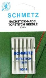SCHMETZ - Naaimachine Naalden Topstitch - 5 stuks  - 130 N - 90/14