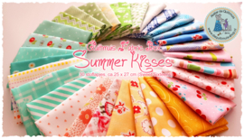 Quiltmuis Fabric Box 'Summer Kisses' - 30 stoflapjes Sweet Sixteen