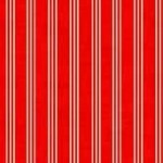 Scandi Christmas - Triple Stripe Red - 1780/R