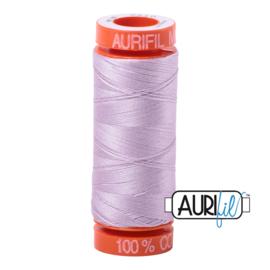 Aurifil Quiltgaren- MAKO 50 - 200 meter - Kleur: 2510 - Light Lilac