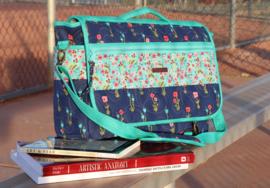 Patroon: 'MJ's Messenger Bag' - by Annie - PBA261