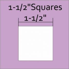 "1-1/2"" Squares (70 pieces)"