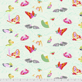 Tula Pink - Curiouser & Curiouser - Sea of Tears - PWTP162.WONDER