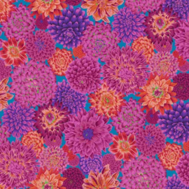 Kaffe Fassett Collective 2020 - Dancing Dahlias - PWPJ101.RED