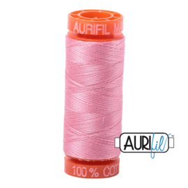 Aurifil Quiltgaren- MAKO 50 - 200 meter - Kleur: 2425 - Bright Pink