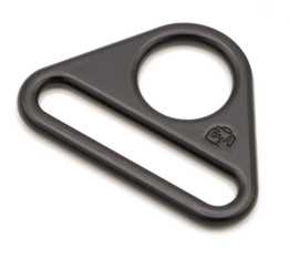 "HAR1.5-TR-BM-TWO - Two 1½"" Black - Triangle Rings"