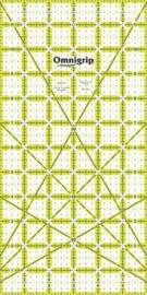Prym Omnigrid - Antislip Liniaal - 6 x 12 inch - 610.210