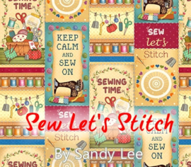 'Sew Let's Stitch' by Sandy Lee