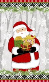 PANEL:  'Santa' by Sarah Fults - Snow Merry - 5698P-98