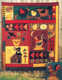 Meme's Quilts - 'Dixie Chickens'