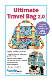 Patroon: 'Ultimate Travel Bag' Tas 2.0 - by Annie - PBA251-2
