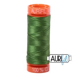 Aurifil Quiltgaren- MAKO 50 - 200 meter - Kleur: 5018 - Dark Grass Green