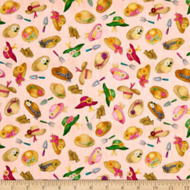 QT Fabrics - 'A Gardening We Grow' - 1649-26499-C