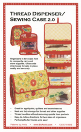 Patroon: 'Thread Dispenser/Sewing Case 2.0' - by Annie - BPA107-2