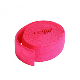 Fold over elastic - 2 yard - Lipstick